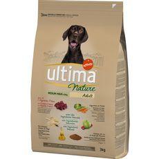 ULTIMA Nature croquettes à l'agneau légumes riz pour chien 3kg