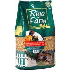RIGA Riga Farm mélange pour volaille d'agrément stand up 4kg