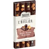 Nestlé recette atelier noir raisin amande noisette 195g