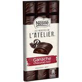 Nestlé recette atelier ganache chocolat noir 150g