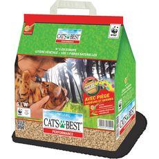 CAT'S BEST Cat's best Performance litière végétale ultra agglomérante pour chat 2,3kg 2,3kg