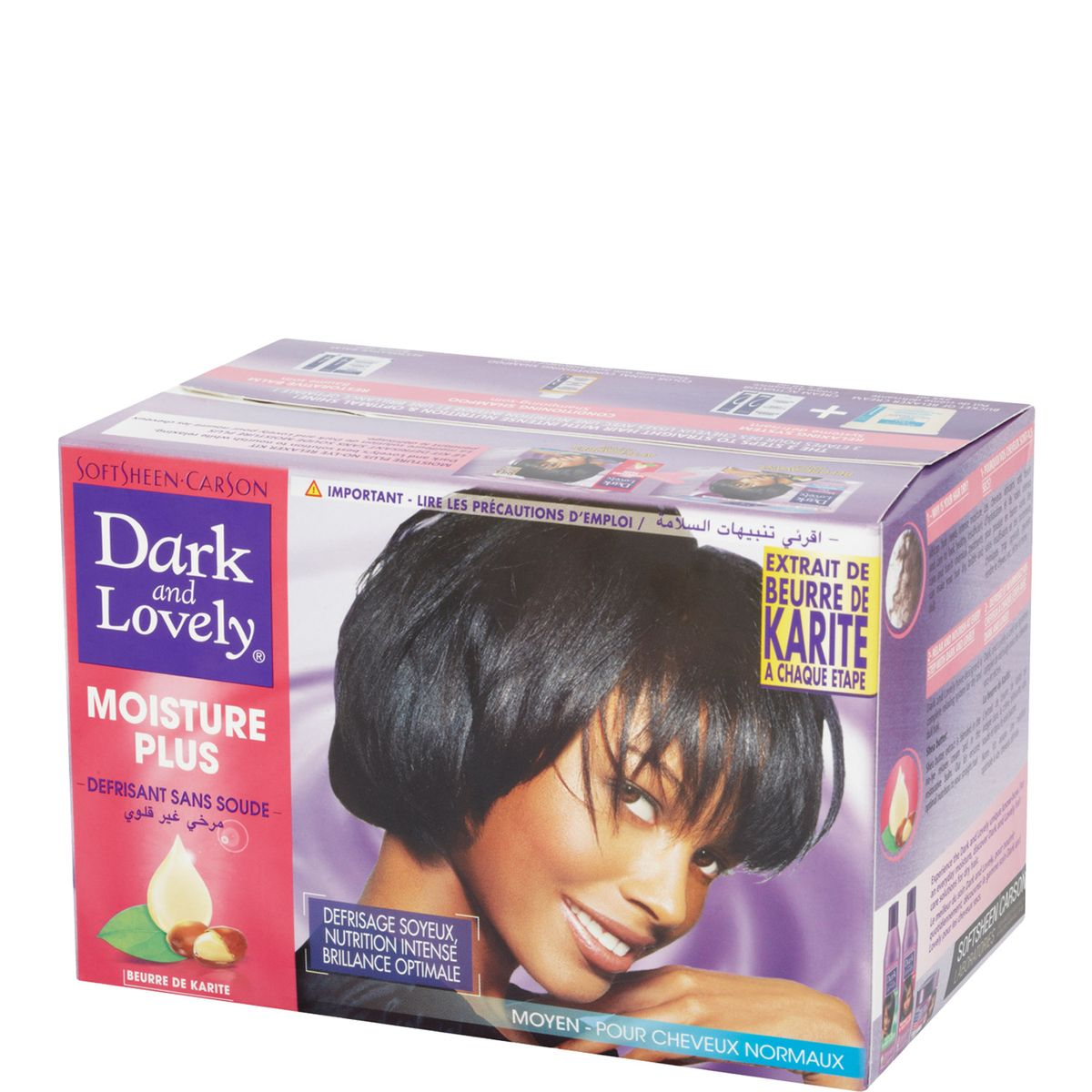 Dark et Lovely kit défrisant regular