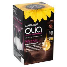 Garnier Olia Coloration permanente sans ammoniaque 5.15 chocolat glacé