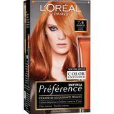 L'Oréal préférence color féria cuivre intense 74