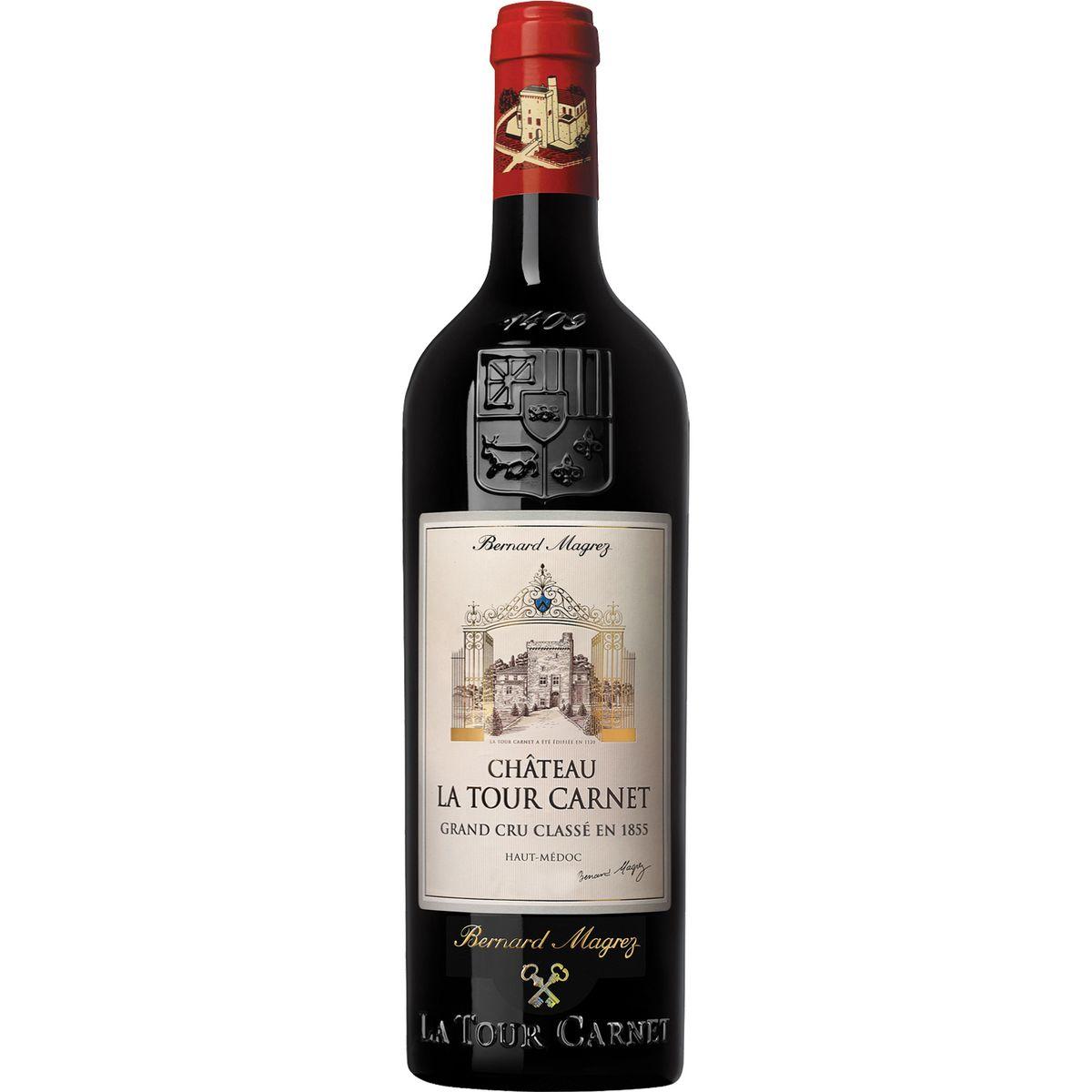 AOP Haut-Médoc Château La Tour Carnet Grand Cru Classé rouge 2015