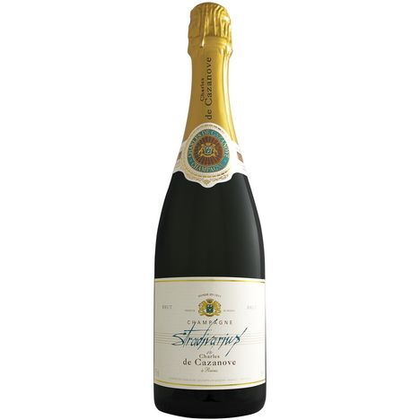 CHARLES DE CAZANOVE AOP Champagne brut Stradivarius