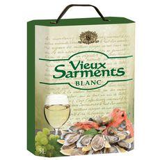 VIEUX SARMENTS Vin de l'Union Européenne Vieux Sarments blanc 5L