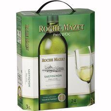 Roche Mazet sauvignon blanc vin de pays d'Oc 3l 24 verres 3l