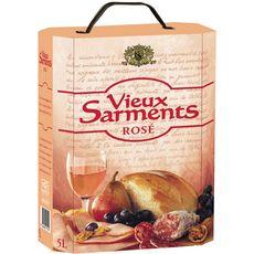 VIEUX SARMENTS Vin de l'Union Européenne Vieux Sarments rosé 5L
