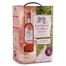 LES ORMES DE CAMBRAS IGP Pays-d'Oc Grenache cuvée réservée rosé 5L