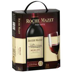 Roche Mazet IGP Pays-d'Oc Merlot Roche Mazet cuvée spéciale rouge 3L