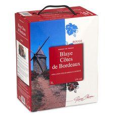 PIERRE CHANAU AOP Blaye-Côtes-de-Bordeaux rouge Bib 3l