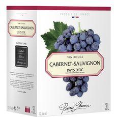 Pierre Chanau cabernet sauvignon rouge igp oc 12,5° -3l