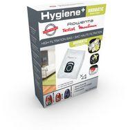 ROWENTA Lot de 4 sacs aspirateur origine hygiène+ - ZR200920