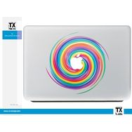DESTROY POP Sticker pour Macbook motif Tourbillon