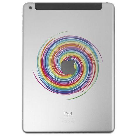 DESTROY POP Sticker pour iPad motif Tourbillon