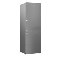 BEKO Réfrigérateur combiné RCNE365K31ZXP, 317 L, Froid No Frost