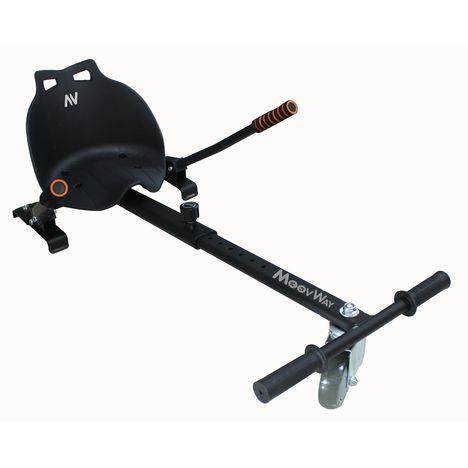 MOOVWAY Noir - Kart pour hoverboard