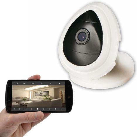Caméra IP HD d\'intérieur WiFi avec micro MCL pas cher à prix Auchan
