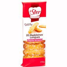 Lester madeleines longues aux pépites de sucre 250g