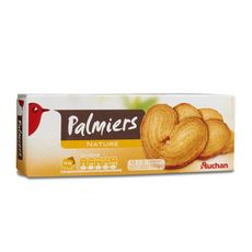 Auchan biscuit palmier 100g