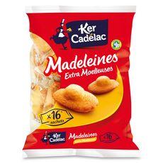 Ker Cadelac madeleines extra moelleuses x16 -400g