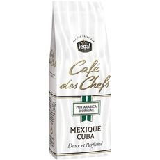 Légal café des chefs mexique cuba 250g