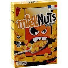 Auchan miel nuts 375g