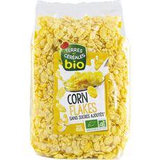 Bio terres et Céréales cornflakes sans sucre 450g
