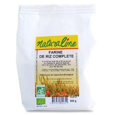 NATURALINE Farine de riz complète bio 500g