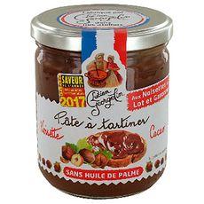LUCIEN GEORGELIN Pâte à tartiner aux noisettes sans huile de palme 400g