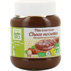 JARDIN BIO ETIC Jardin Bio pâte chocolat noisettes sans gluten 350g