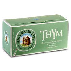 Les 2 Marmottes infusion au thym sachets x30 - 60g