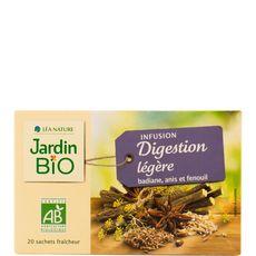 JARDIN BIO ETIC Infusion digestion légère badiane, anis et fenouil 20 sachets 30g