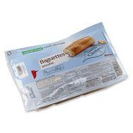 Auchan baguettes précuites sans gluten x2 200g