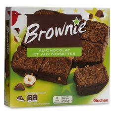 Auchan Brownies familial 285g