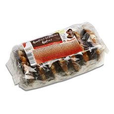 AUCHAN Auchan gaufre liégeoise au chocolat belge x7 - 345g