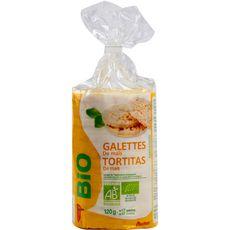 AUCHAN BIO Galettes de maïs 120g