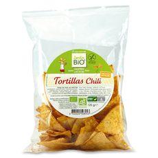 Jardin Bio tortillas au chili sans gluten 125g