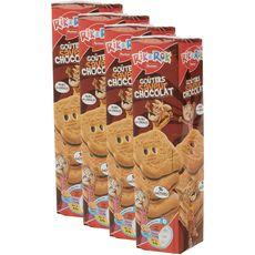 Rik&Rok fourrés chocolat 4x300g