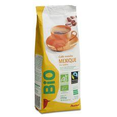 Auchan Bio café moulu arabica mexique 250g