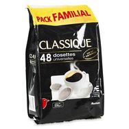 Auchan café classique dosette x48 -340g