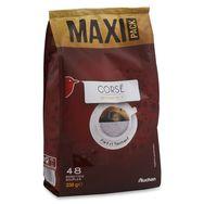 Auchan café corsé dosette x48 -340g