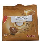 Nescafé Auchan café au lait capsule Dolce Gusto x10 -100g