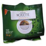 Auchan café saveur noisette intensité 3 dosette x10 -70g