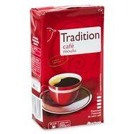 Auchan café tradition moulu 250g