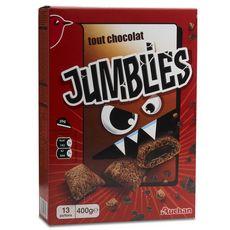 AUCHAN Jumblies céréales tout chocolat 400g