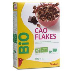 Auchan bio flakes 375g