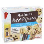 Auchan mini cookies petit dej cornflakes 160g