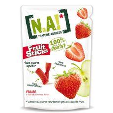 N.A. fruit sticks fraise doypack en sachet 40g